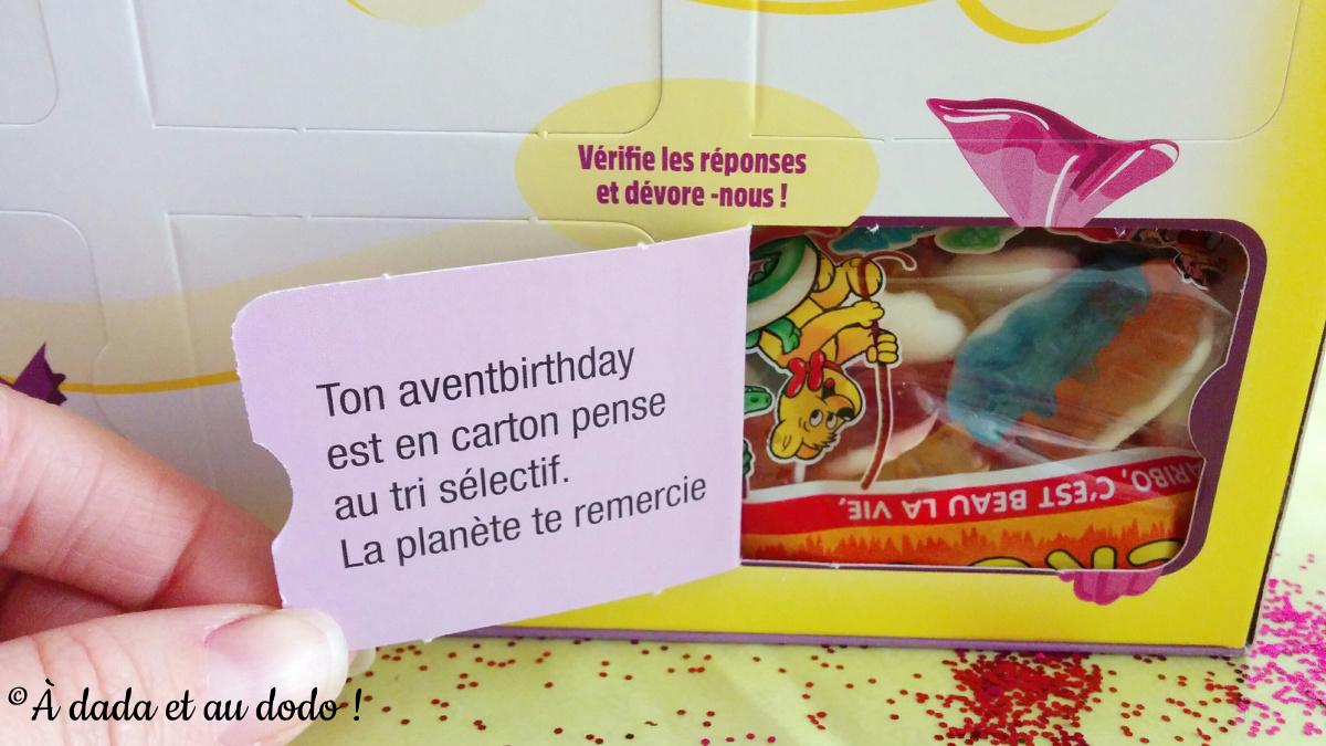 Aventbirthday et le tri sélectif