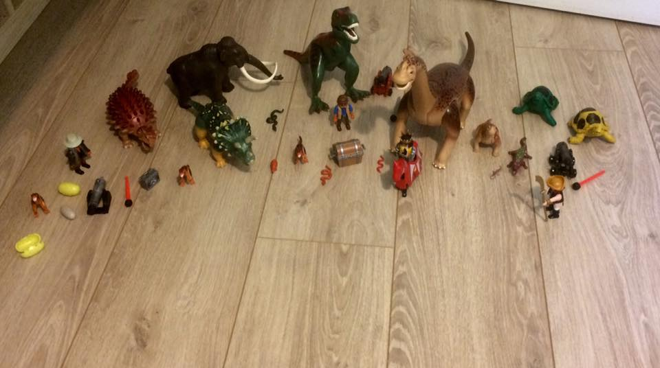 Des dinosaures et des hommes !