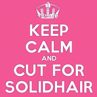 keep calm and cut for Solidhair