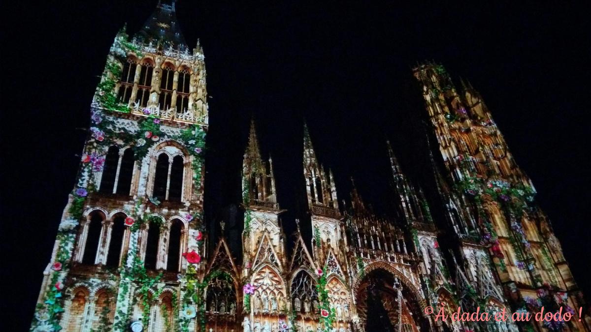 Rouen, cathédrale de Lumière, Jeanne(s)
