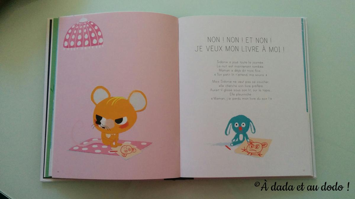 J'ai pas sommeil : je veux mon livre à moi !