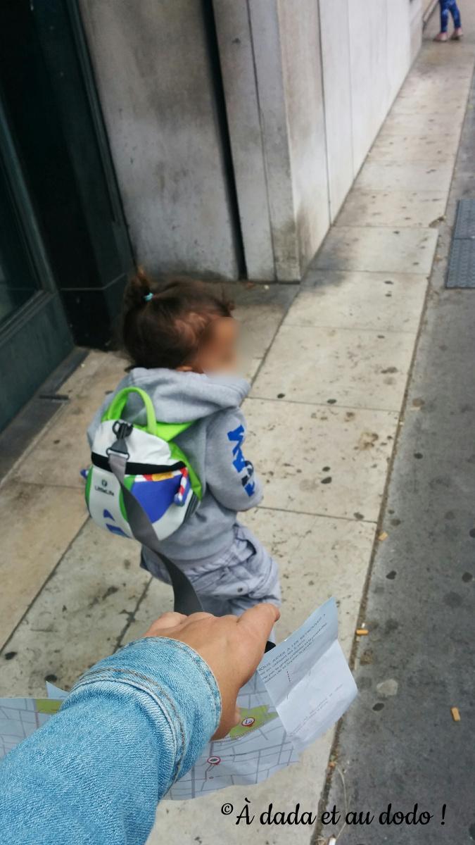 sac à dos harnais