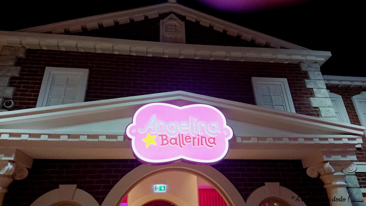 Angelina Ballerina à Mattel Play Town