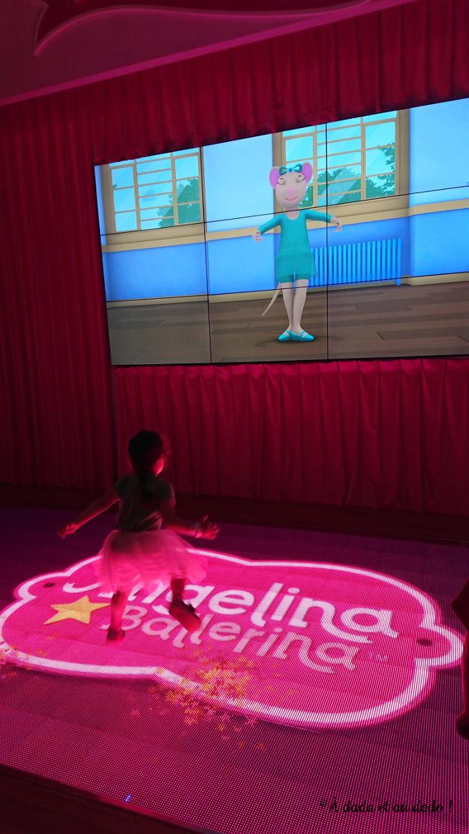 Angelina Ballerina leçon de danse