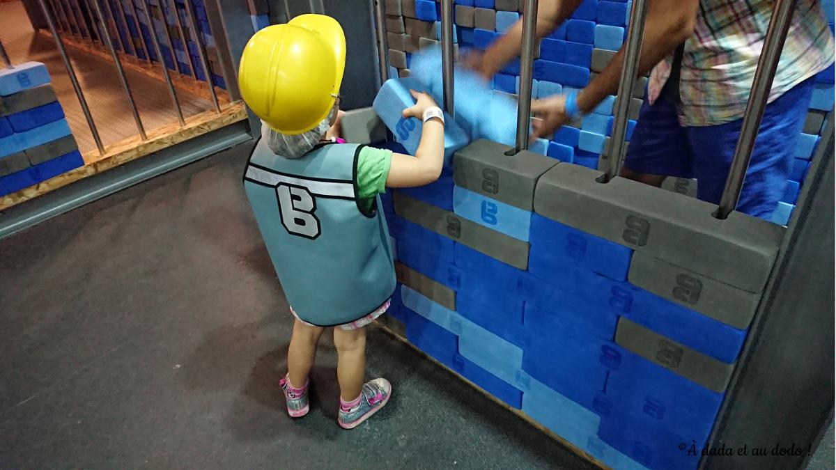 Bob le bricoleur : Construire un mur