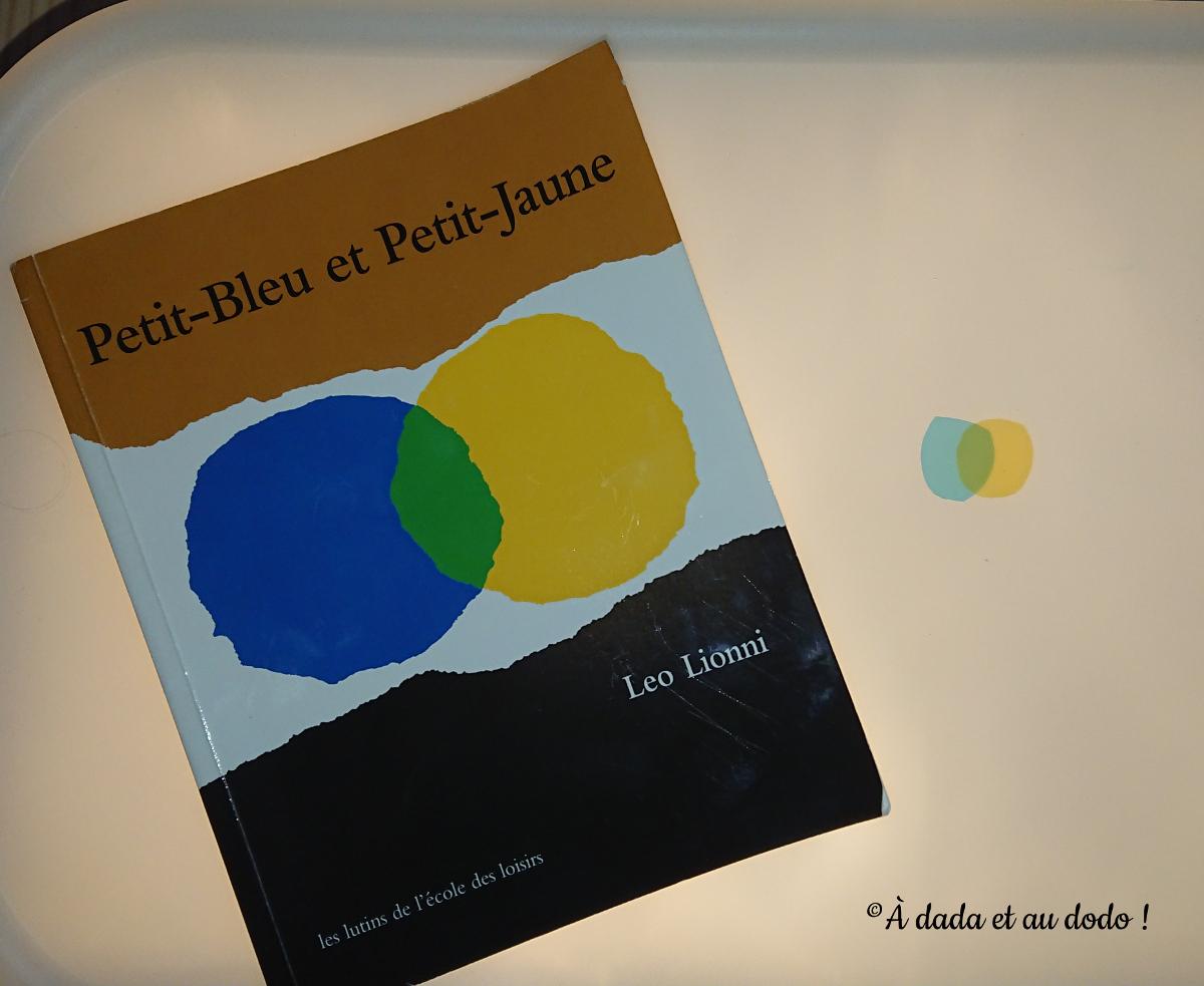 Petit-bleu et Petit-jaune livre et jouet