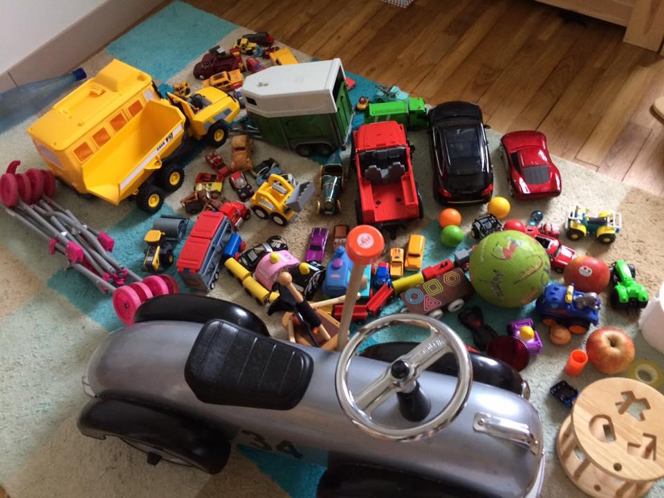 inventaire de tout ce qui roule à la maison