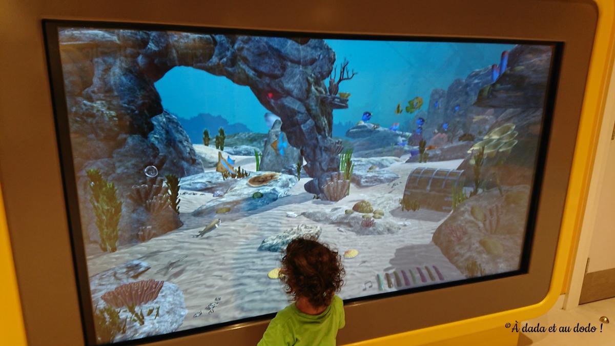 Acquarium interactif
