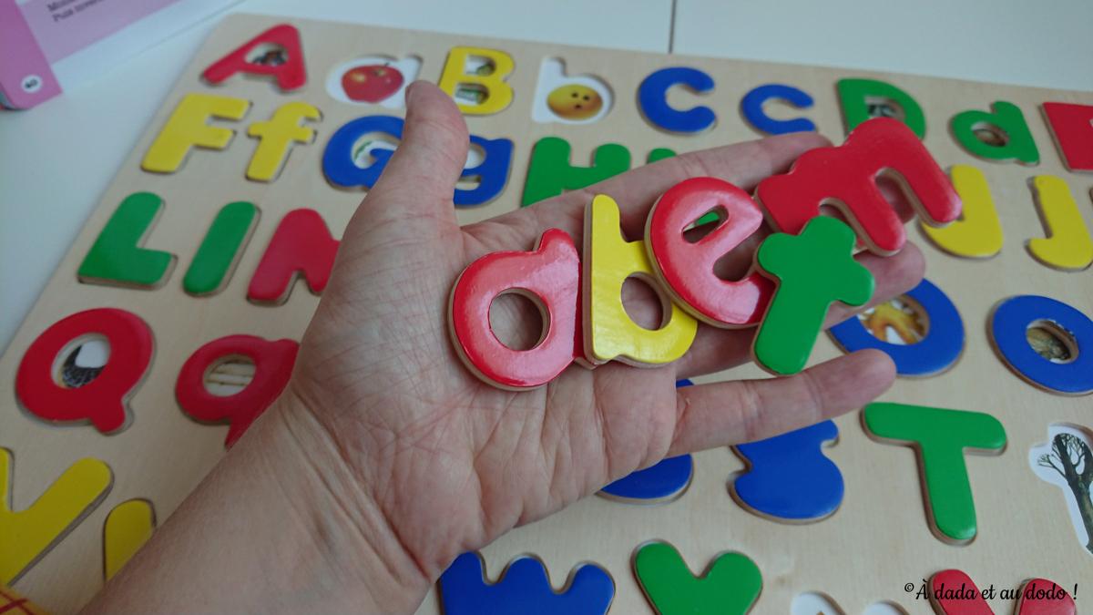 Lettres minuscules du puzzle Melissa & Doug