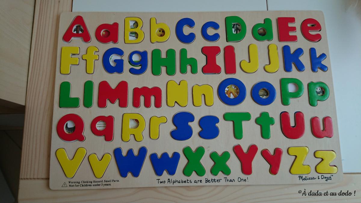 Puzzle de lettres Melissa & Doug