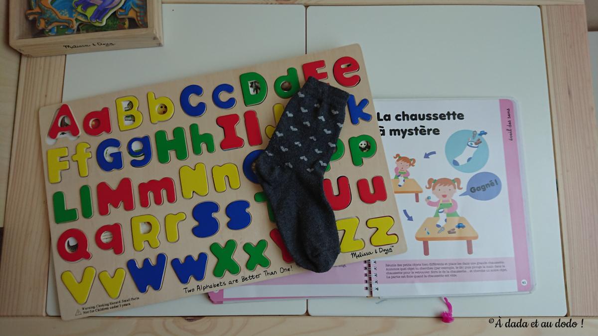 Puzzle de lettres
