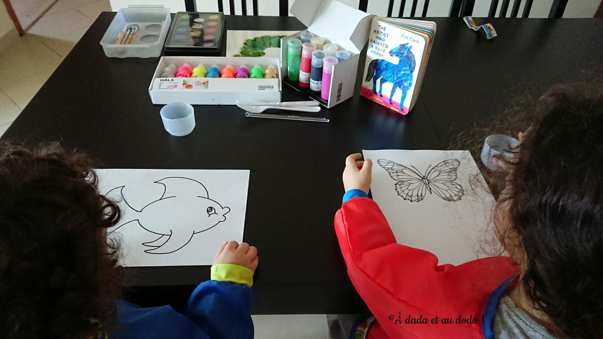 Activité autour de The artist who painted a blue horse