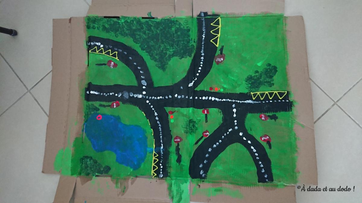 DIY circuit de voitures pour enfants