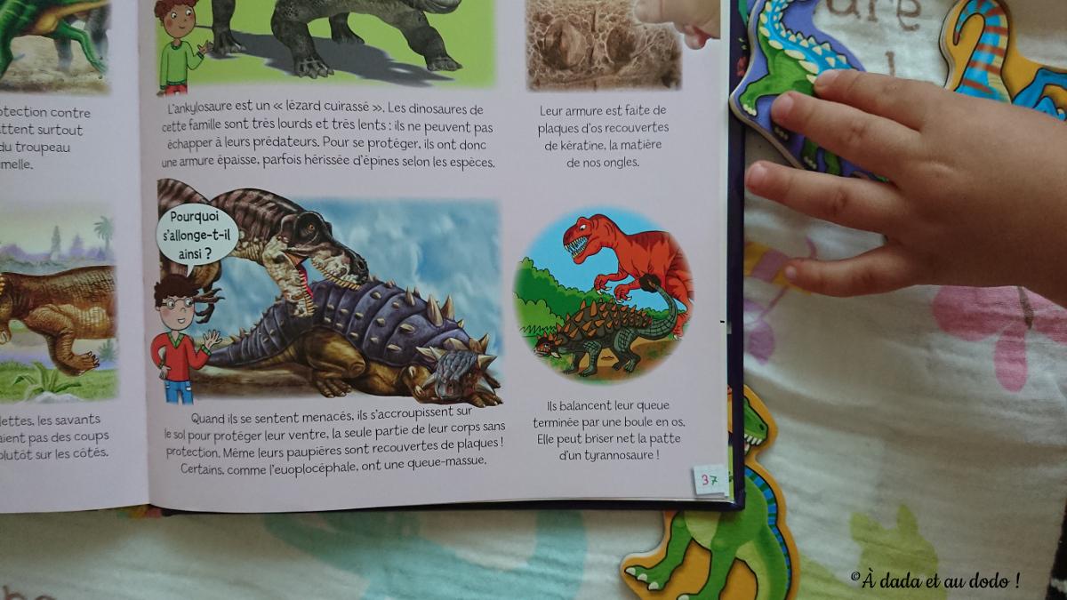 Les dinosaures, éditions Fleurus