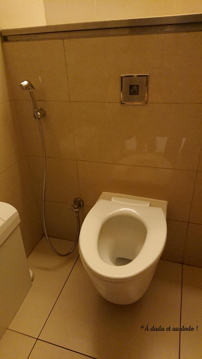 Toilettes à Dubaï