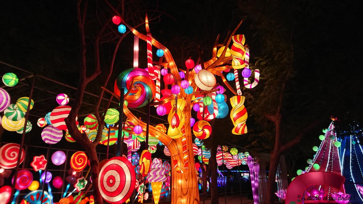 Dubai Garden Glow : Candyland