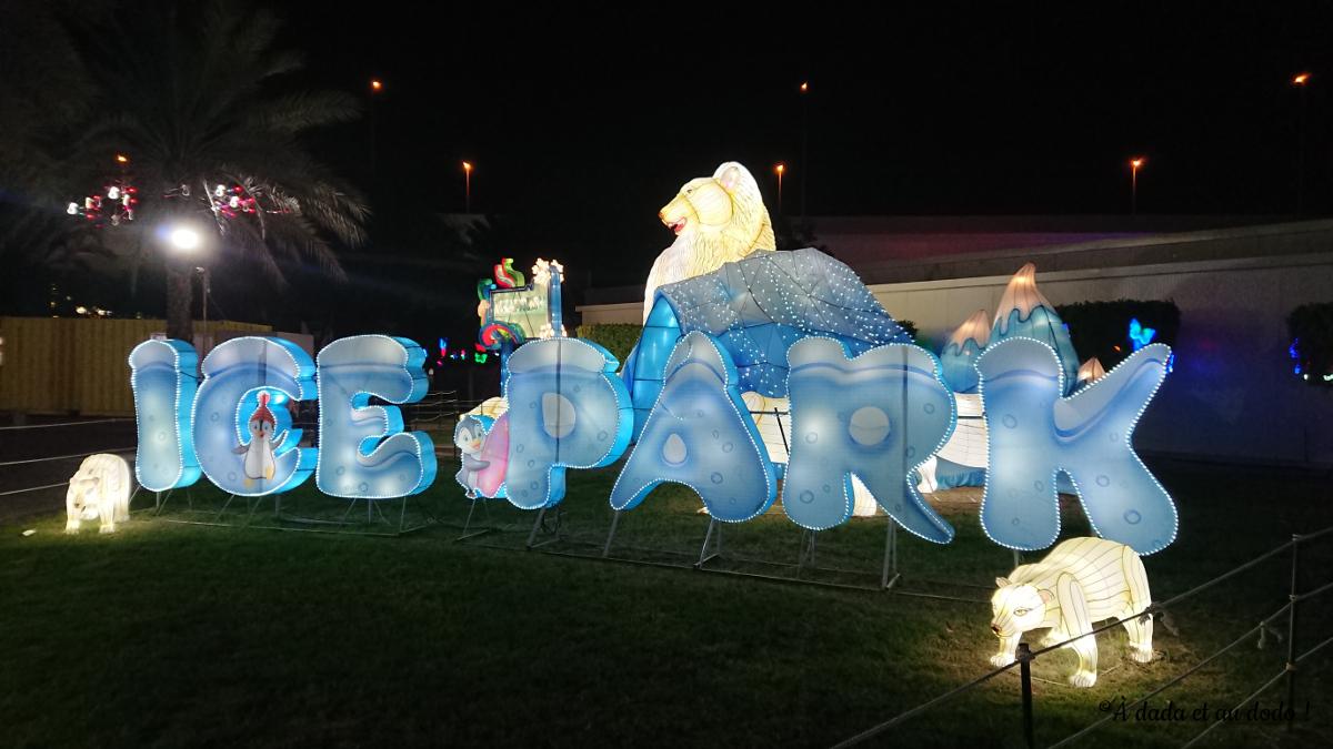 Dubai Garden Glow : Ice Park