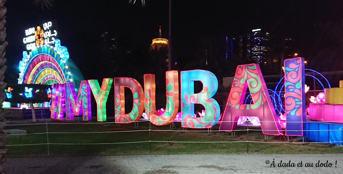 Dubai Garden Glow : my Dubai
