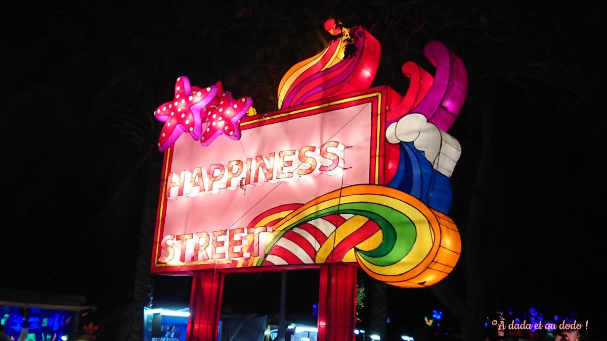 Dubai Garden Glow : Happiness street
