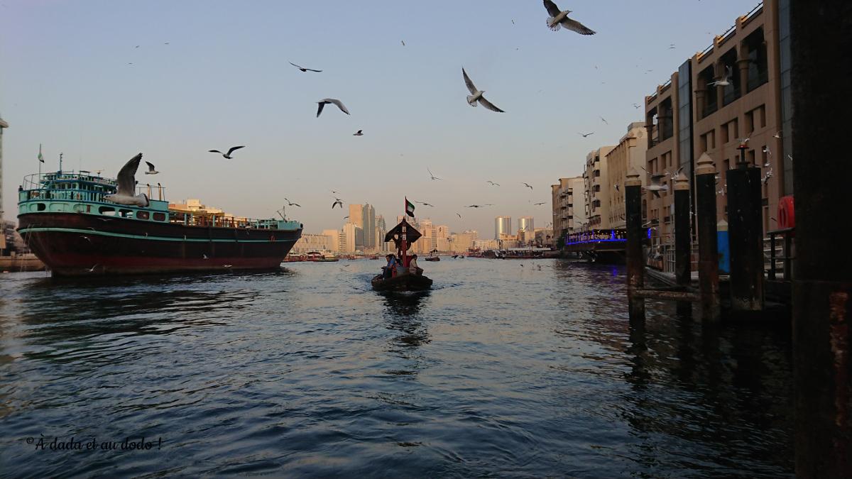abra dans le vieux Dubaï