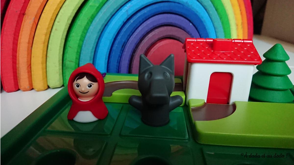 Le Petit Chaperon Rouge et le loup !