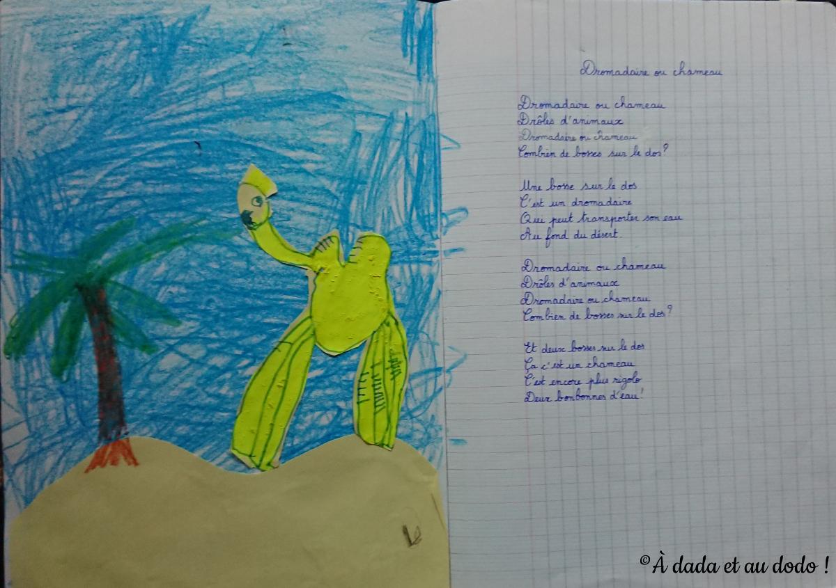 Poésie : Dromadaire ou Chameau