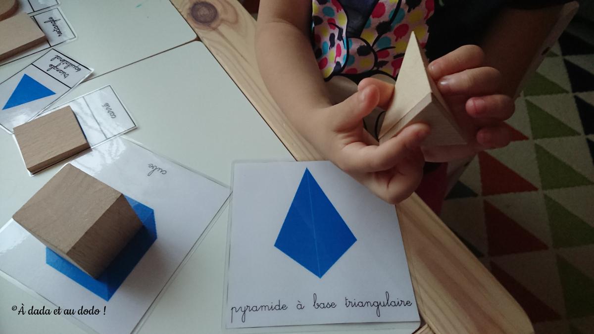 Comparer les formes et les volumes géométriques