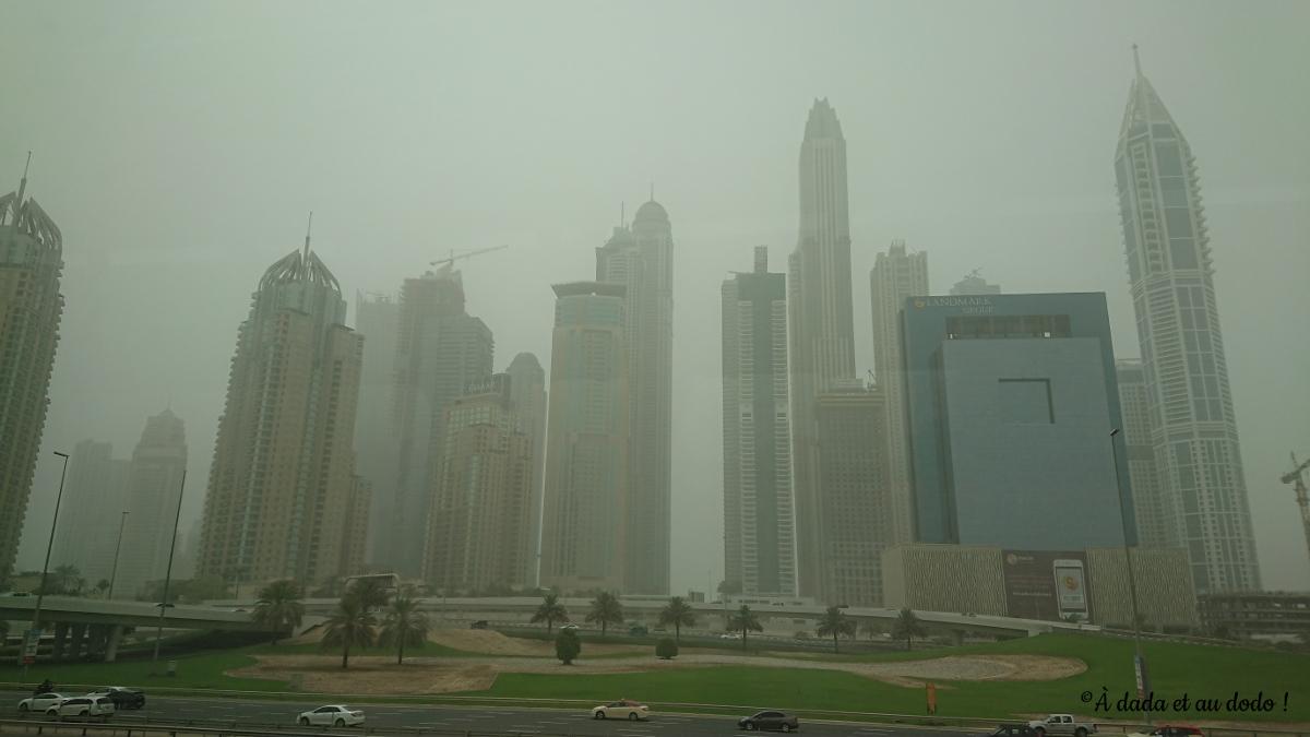 Dubaï sous la tempête de sable