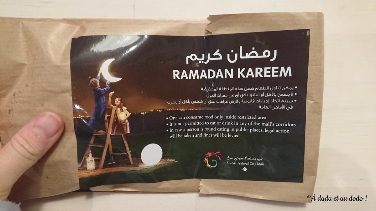 Recommandations pendant le Ramadan à Dubaï
