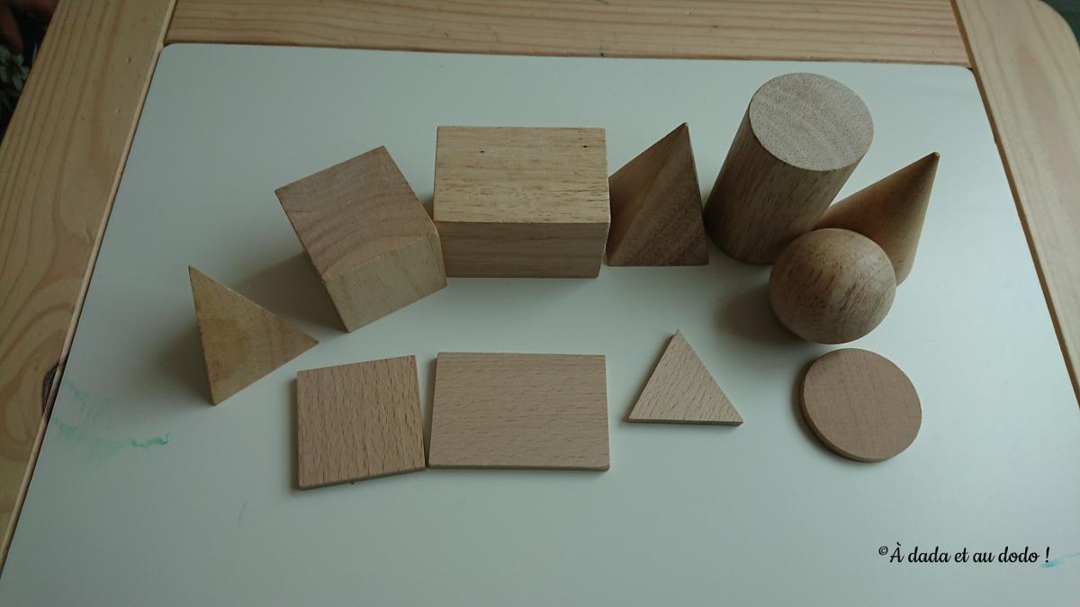 Formes et volumes en bois