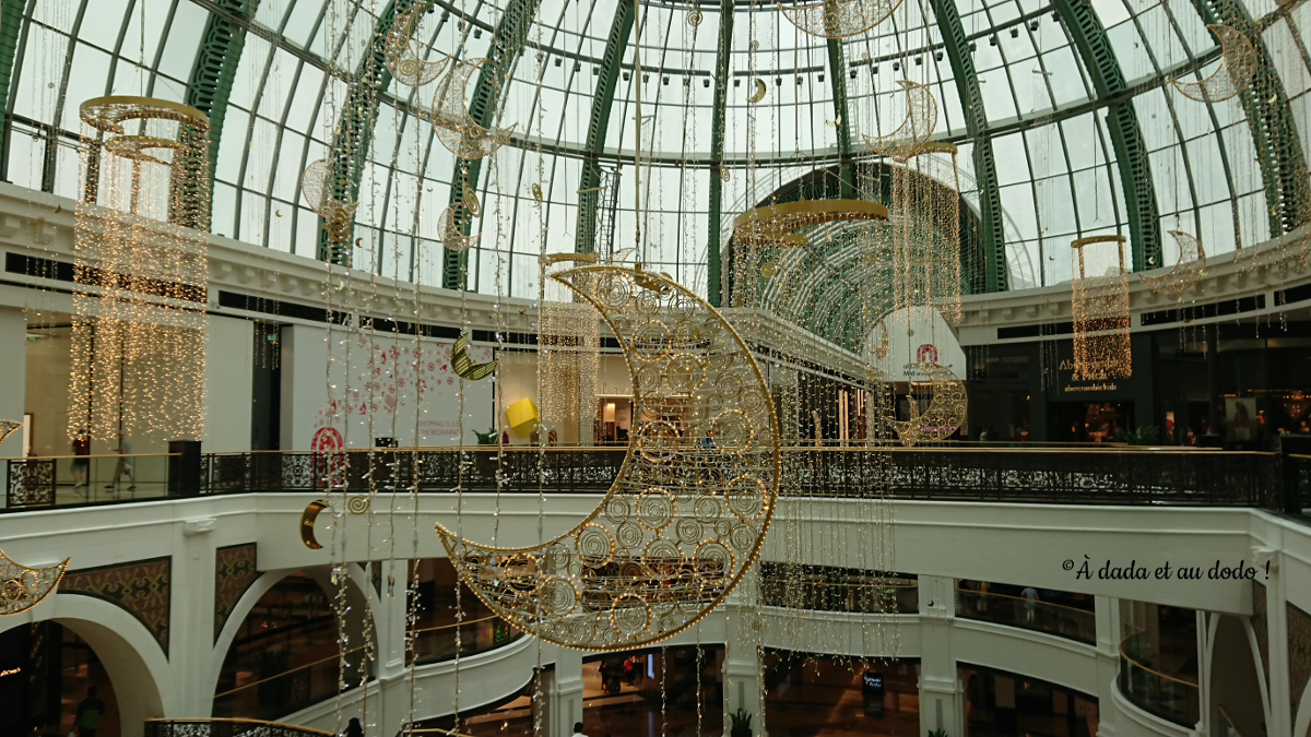 Décoration de Mall of The Emirates pour le Ramadan.