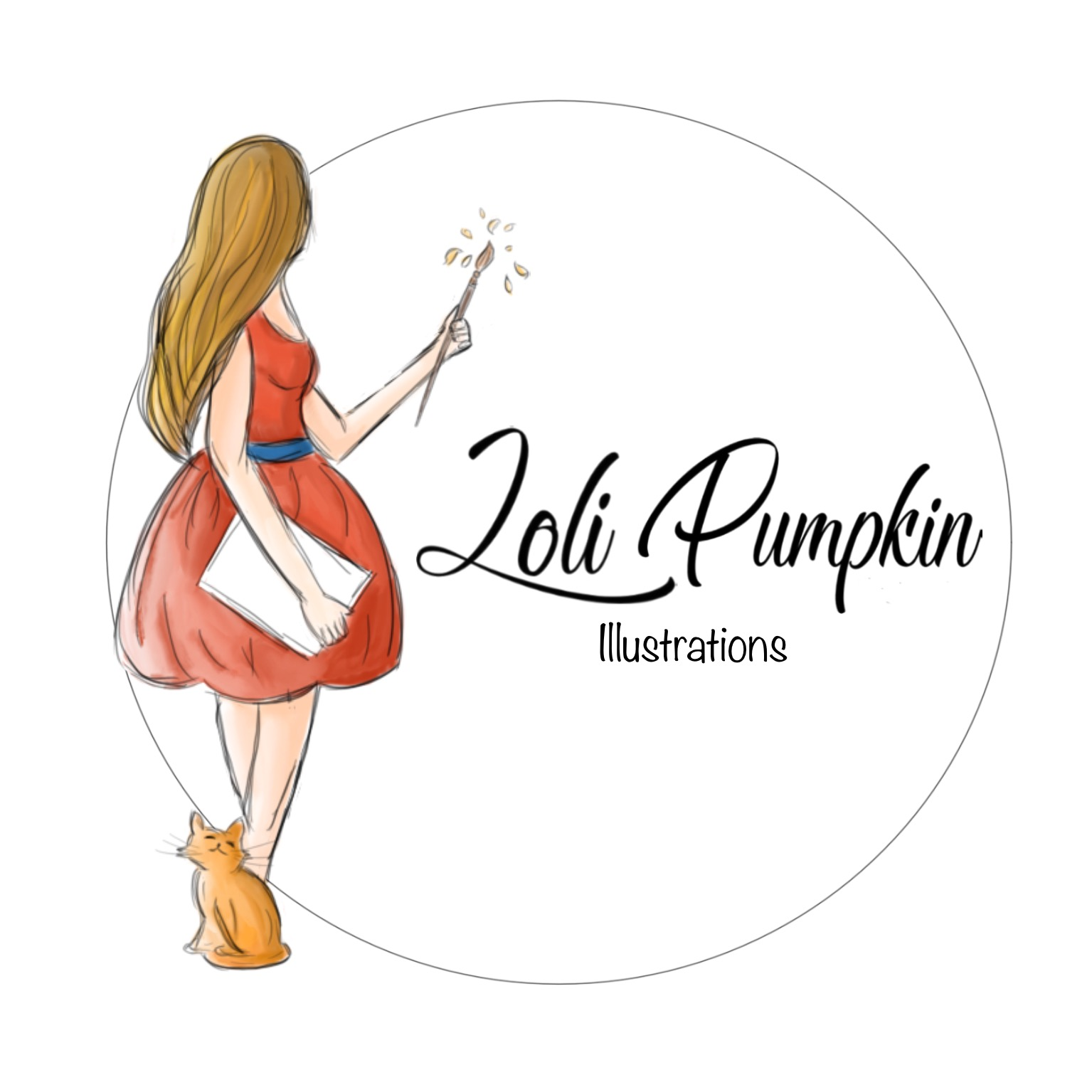 Loli Pumpkin illustrations