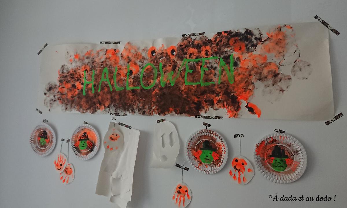 Notre décoration de Halloween !