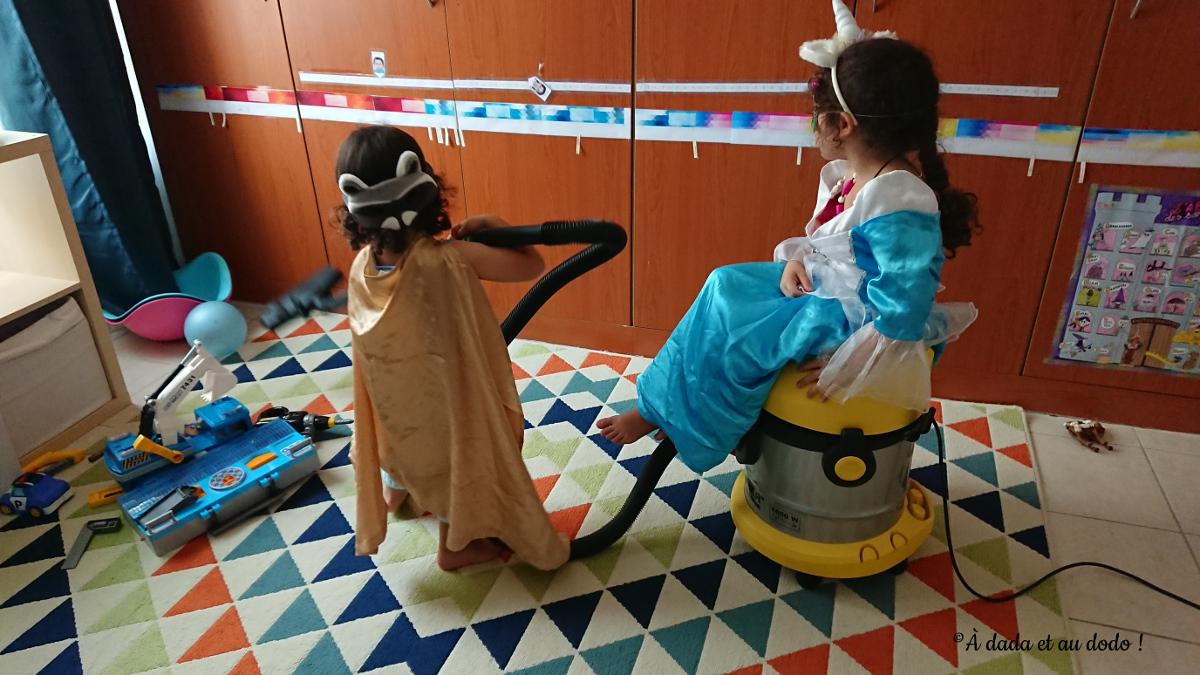 Qui aurait cru qu'un super-héros râton-laveur pouvait tirer le carosse d'un princesse licorne ?