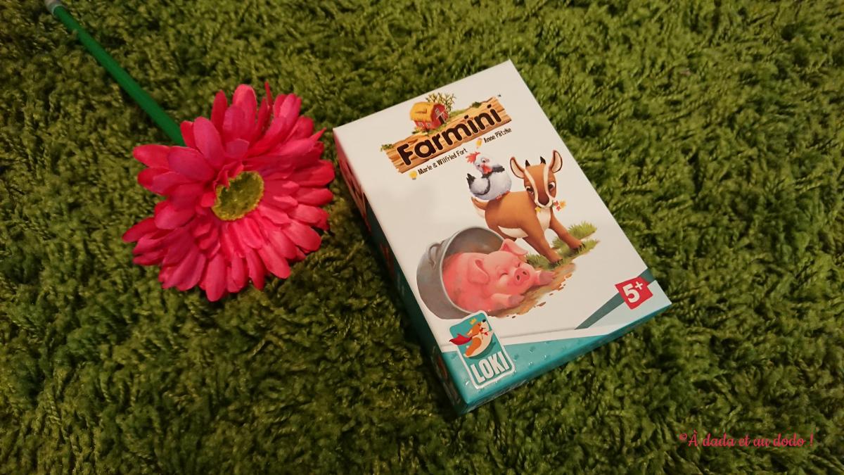 Farmini - boite de jeu