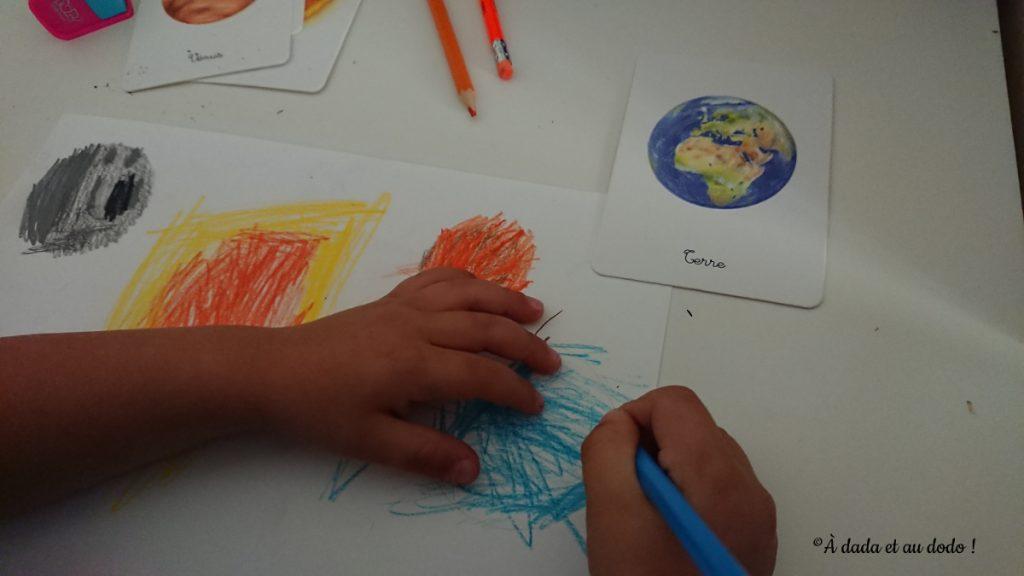 dessiner les planètes