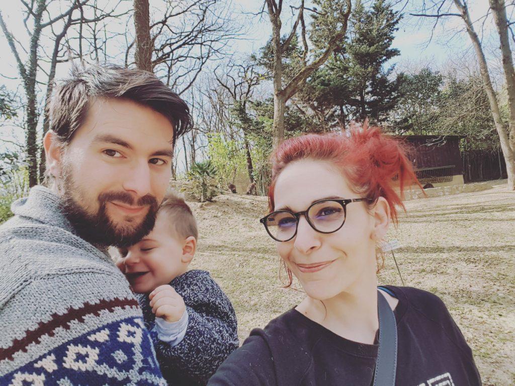 Johanna et sa famille