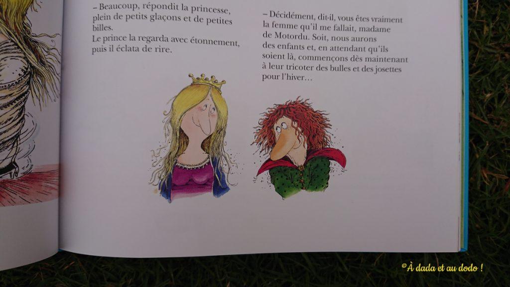 Le prince de Motordu et la Princesse Dézécolle