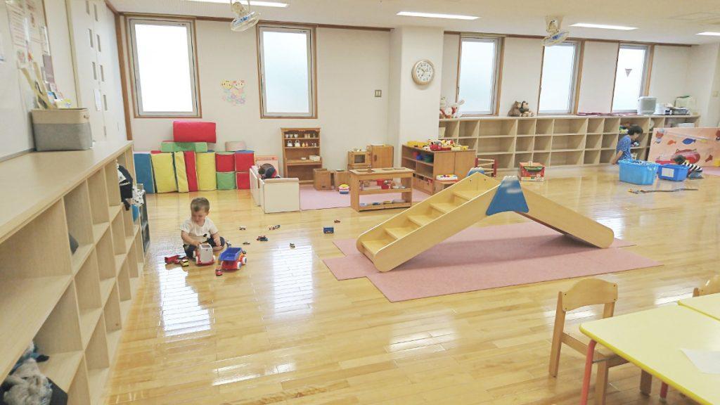 Salle de classe de maternelle au Japon