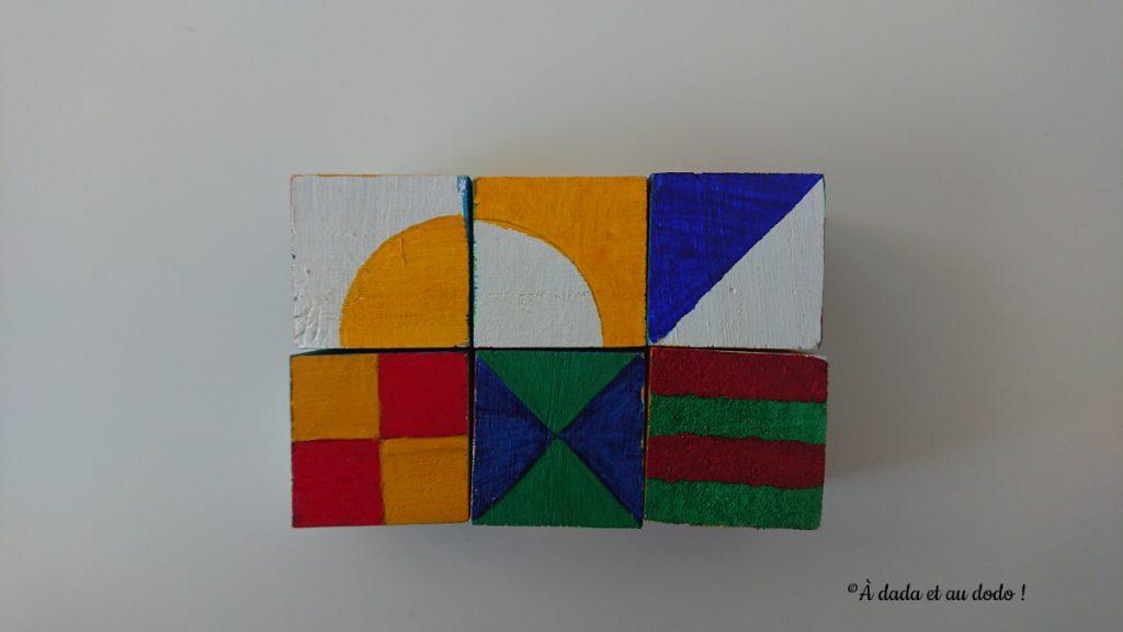 cubes de pavage