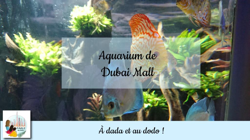 Aquarium de Dubai Mall