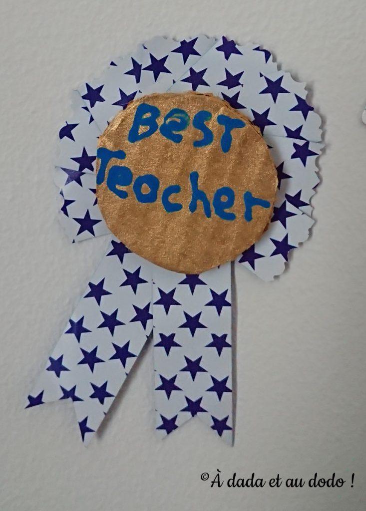Médaille de la meilleure maîtresse