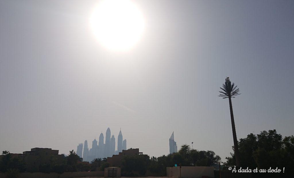L'été à Dubaï il fait très chaud