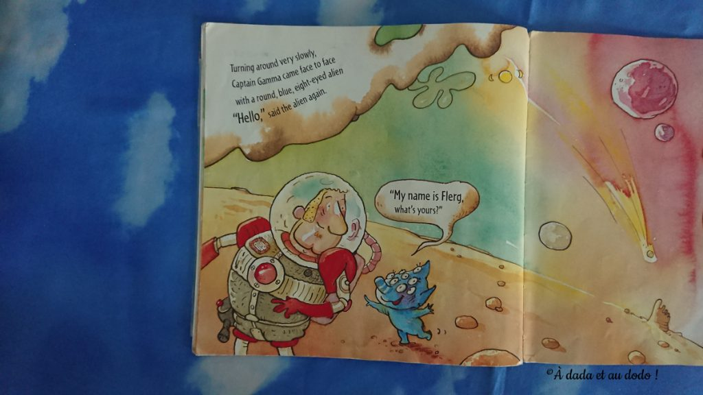 Captain Gamma, mission to Mars