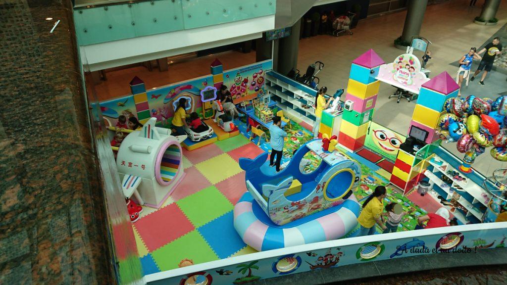Une garderie/salle de jeux dans un centre commercial à Dubaï