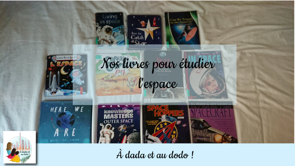 Nos livres pour étudier l'espace