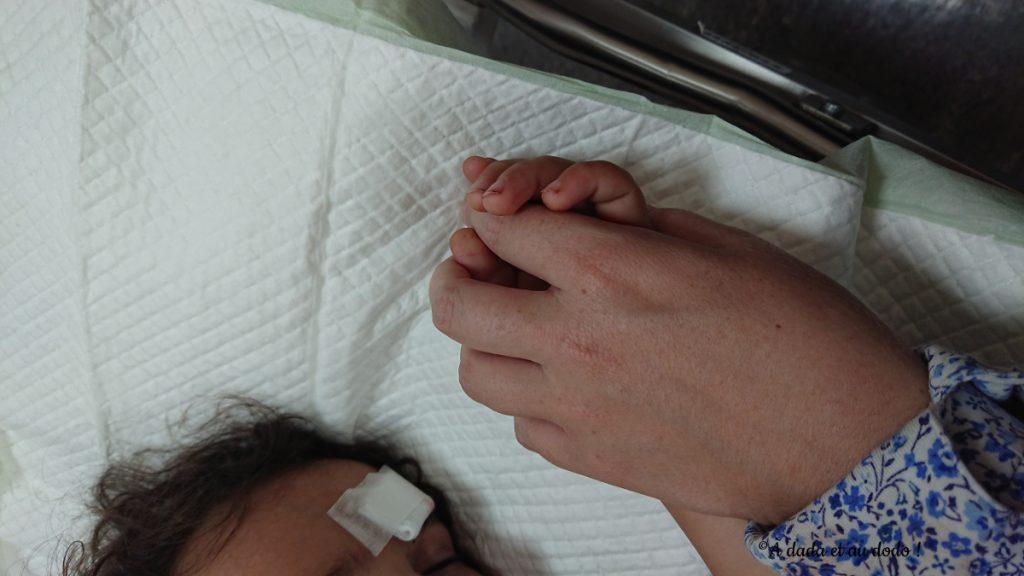 Aux urgences de l'hôpital à Dubaï