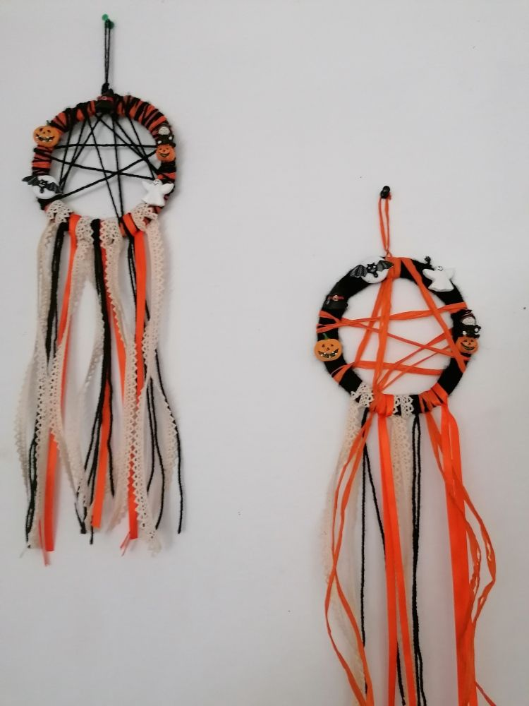 Dream catcher de Halloween
