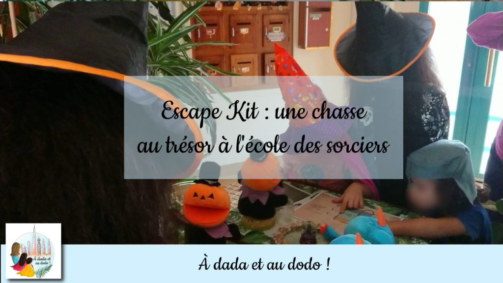 Escape Kit, chasse au trésor à l'école des sorciers