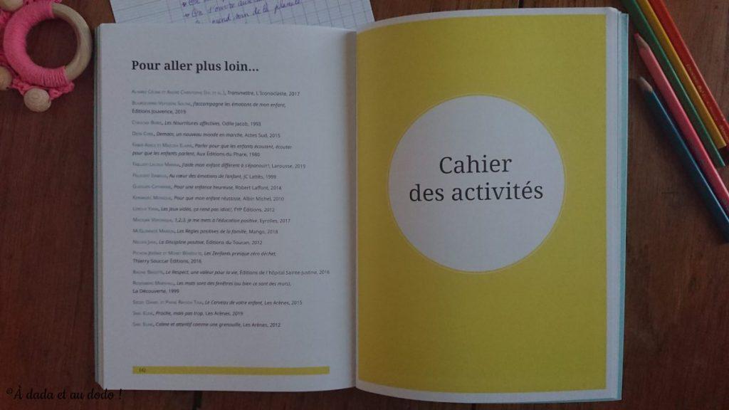 Cahier d'activités, Je transmets des valeurs positives
